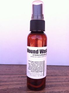 Wound Wash... an Herbal First-Aid Antiseptic Spray