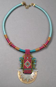 ethnic necklace... Inspiration