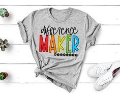 Kindergarten Teacher Shirts, Teaching Shirts, Shirts For Teachers, Teacher T Shirts, Preschool Shirts, School Tshirt Designs, Dr Seuss Shirts, Vinyl Shirts, Personalized Shirts