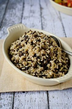 Wild & Brown Rice w/Black Beluga Lentils from Kitchen Confidante - I love the nutty flavor of wild rice, this sounds like a winner.