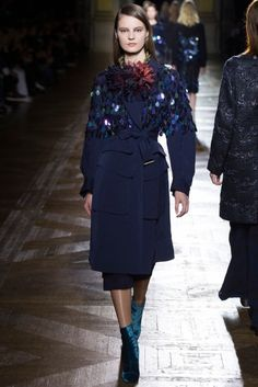 PFW Runway Report: Dries Van Noten Fall 2015 via OliviaPalermo.com