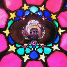 Land Of Colours ( The Nasir Al-mulk Mosque Or Pink Mosque ) | Bored Panda