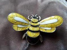 Margot de Taxco silver and enamel work. #bee #jewelry #ethnic