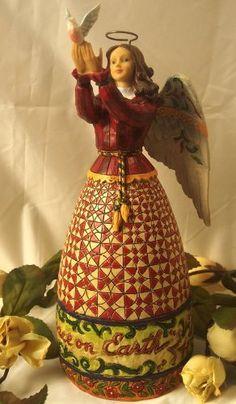 Jim Shore - Heartwood Creek - Collectible Figurine - Angel with Dove by Enesco - 4005273 by Jim Shore - Heartwood Creek, http://www.amazon.com/dp/B004YWRJ7W/ref=cm_sw_r_pi_dp_3a57qb174GF7M