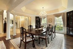 Awesome Dining Room Lighting Decor Ideas - http://www.lyncho.com/awesome-dining-room-lighting-decor-ideas/