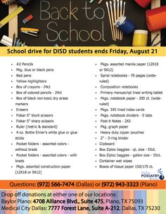 58 Best Donation Drive Ideas images in 2019 | School supply