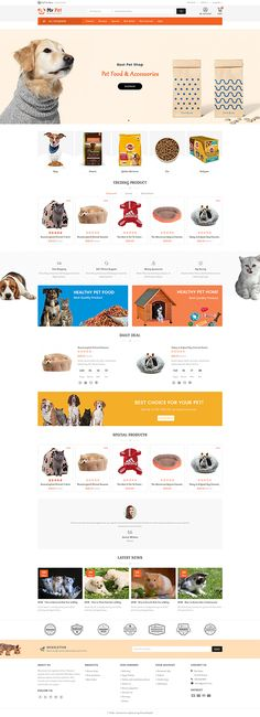 My Cute Pet Store - The Specials Pet Store Template is a good choice for selling - #Fashion #theme #Electronics #Art #webibazaar #watch #design #webiarch #template #fashion #idea #themes #undergarments #home #bodysuits #typography #beachwear #lingerie #tendance #WebsiteShoppingCart #eCommerce  #web #jewellery #organic #pet-store #power-tool #resturant #shoes #Themeforest #opencart #prestashop #wordpress #inspiration #Best #modern #product #Responsive #minimalist #inspiration Ecommerce Website Design, Website Design Layout, Web Design, Discount Pet Supplies, Online Pet Supplies, Pet Bag, Online Pet Store, Wordpress Theme Design, Photoshop