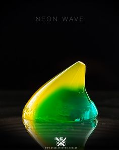 neon wave jelly