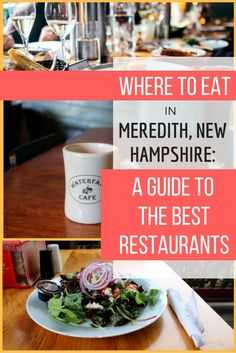Where to Eat in Meredith, New Hampshire: A Guide to the Best Restaurants | A Travel Guide To New Hampshire | USA Travel Tips