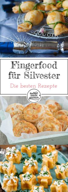 Fingerfood für Silvester Fingerfood recipes are booming on the days around New Year's Eve of course. And because the New Year's Eve snack might not just be a nasty pack of chips, but something New Years Eve Snacks, New Year's Snacks, Snacks Für Party, Yummy Snacks, Healthy Snacks, Healthy Life, Healthy Living, Isagenix, Fingerfood Recipes