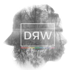 Artwork DRW PROJECT #26. Created by Andrew Mikail. Bandung, Indonesia #logo #design #graphicdesign #original #drwproject #illustrator #illustration #branding #doubleexposure
