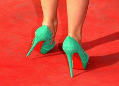 Louboutins rule the carpet!
