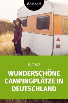 Wir haben 5 außergewöhnliche Campingplätze herausgesucht, wo es selbst Camping-Muffeln gefallen wird. Ob mit dem luxuriösen Wohnmobil oder klassisch im Zelt: Diese Campingplätze in Deutschland sind auf jeden Fall eine Reise wert.  #campingplätze #deutschland #reisen