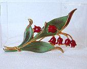 Floral Treasury #vjse2 #vintage #jewelry #boebot #etsybot2