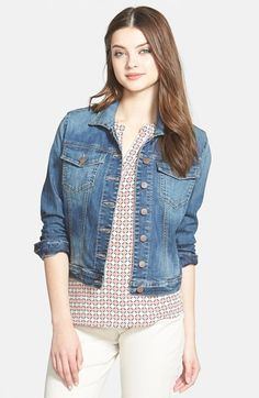 Free shipping and returns on KUT from the Kloth 'Helena' Denim Jacket at Nordstrom.com. An essential denim jacket is styled with iconic detailing, including chest flap pockets and shank-style buttons.