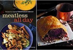 Meatless All Day featuring Beet Wellington - WIN a copy.