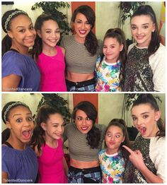 Maddie Ziegler at Todrick's Concert with Miranda Sings (Collen Ballinger)