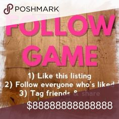 💅🏻💅🏻 New Follow Game! 💅🏻💅🏻 New PoshMark Follow Game! Like, tag your friends, follow everyone, follow me, and SHARE 🎉 LuLaRoe Pants Leggings