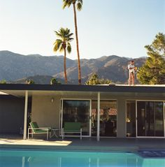 Love the surroundings, the palm trees, and the pool...