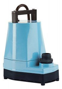 Little Giant 505000 Water Wizard 5 Series Submersible Utility Pump Review