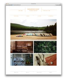 Kanorado Shop by STUDIO NEWWORK, via Behance