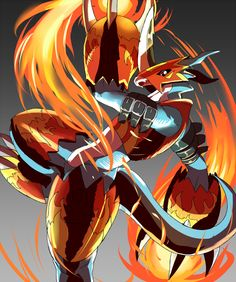 Flamedramon the Fire of Courage
