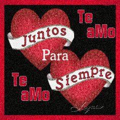 Te amo juntos para siempre
