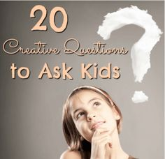 These creative questions to ask kids include quirky inquiries that will get your students thinking outside the box to answer them! Click through to read.