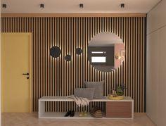 Design interior - UBE studio - Amenajare hol. Interior design - Entry / Hallway Entry Hallway, Ube, Design Projects, Interior Design, Studio, Room, Furniture, Home Decor, Design Interiors