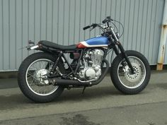 Image result for yamaha sr400 street tracker