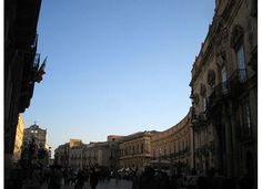 Piazza Duomo, Siracusa, one of my favorite public spaces ever.