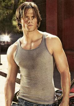 jared padalecki ... loved him since Gilmore Girls, but he's even better on Supernatural!