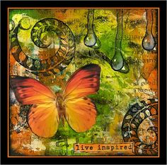 Creativity: Live.. using Design by Ryn stamps