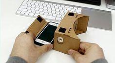 """An awesome Virtual Reality pic! Pengen Keadaan Sekitar Jadi Suasana 3D??? SEKARANG BISA!!! Cardboard Virtual Reality for Smartphone  Dengan Main-Feature nya yaitu sebagai alat Virtual Reality Cardboard dapat merubah pandangan dan menipu otak kita seakan-akan Kita berada diruangan atau tempat lain dengan penglihatan 3D.  Google Cardboard didukung oleh aplikasi yang dibuat oleh banyak orang dan terus bertambah. bisa di download appnya di play store search """"cardboard vr"""" Maksimal 5.5""""  Harga…"""