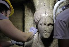 Caryatids Unearthed At Amphipolis Prove Greekness of Macedonians - Tuff Luck FYROM (VIDEO) ~ HellasFrappe