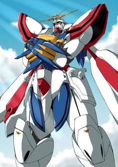 The GF13-017NJII God Gundam (Burning Gundam in the English dub) is a mobile suit featured in Mobile Fighter G Gundam. It was the second Mobile Fighter used by Neo Japan in the 13th Gundam Fight, and is piloted by Domon Kasshu.