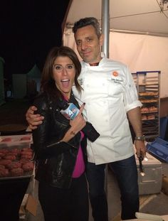 Lauren Scala heads to the Blue Moon Burger Bash at the New York City Wine and Food Festival.