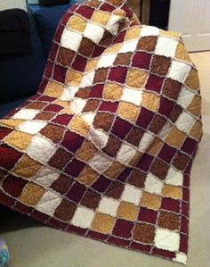 Are you kidding me!!!!! Around the world in a rag quilt!!! LOVE IT!!!!