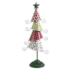 We all know that Ebenezer Scrooge was, well, a Scrooge, but maybe things would have been different if he'd just had the IMAX Whimsy Tabletop. Tabletop Christmas Tree, Xmas Tree, Christmas Ornaments, Ebenezer Scrooge, Tree Sculpture, Metal Tree, Collectible Figurines, Decorative Bells, Holiday Decor