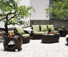 Salon de jardin LIVERPOOL 4 Couleurs | Zoom, 4). and Salons