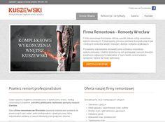 Strona firmy remontowej Kuszewski. Jeżeli planujesz remont mieszkania koniecznie zapytaj o wycenę!