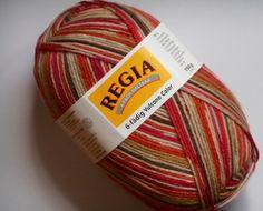 Regia Sockenwolle 6-fädig von Mein Handarbeitsparadies auf DaWanda.com
