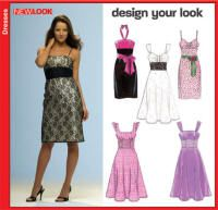 Misses Sun Dress  New Look Sewing Pattern No. 6699