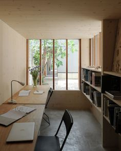 Hugh Strange Architects: The Strange House - Thisispaper Magazine #plywood