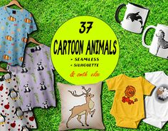 """Check out new work on my @Behance portfolio: """"Cartoon animals collection"""" http://be.net/gallery/55483733/Cartoon-animals-collection"""