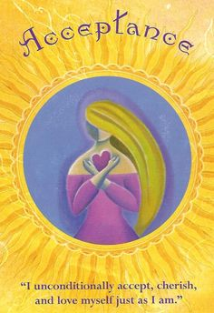 This reading was by Sharon Halliday of Messages from the Heart & features Denise Linn's Soul Coaching Oracle Card Acceptance,which is a sacred act of power. Angel Guide, Oracle Tarot, Doreen Virtue, Angel Cards, Spiritual Guidance, Spirit Guides, Card Reading, Spiritual Inspiration, Acceptance