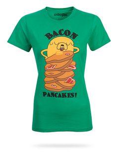 Adventure Time Bacon Pancakes Babydoll