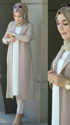Hijab Dress Party, Hijab Style Dress, Hijab Chic, Islamic Fashion, Muslim Fashion, Modest Fashion, Fashion Dresses, Modele Hijab, Hijab Fashionista