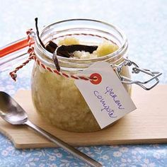 Perencompote Fruit Preserves, Sugar And Spice, Chutney, Fall Recipes, Spices, Sweets, Homemade, Cooking, Marmalade