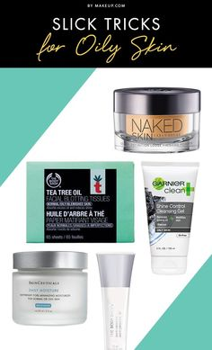 Whether it's toners, astringents or exfoliators, diminishing shine is complicated. The more you try to treat your oily mug, the more problems can erupt: acne, skin irritation and redness. Here are a few tricks to help you manage.